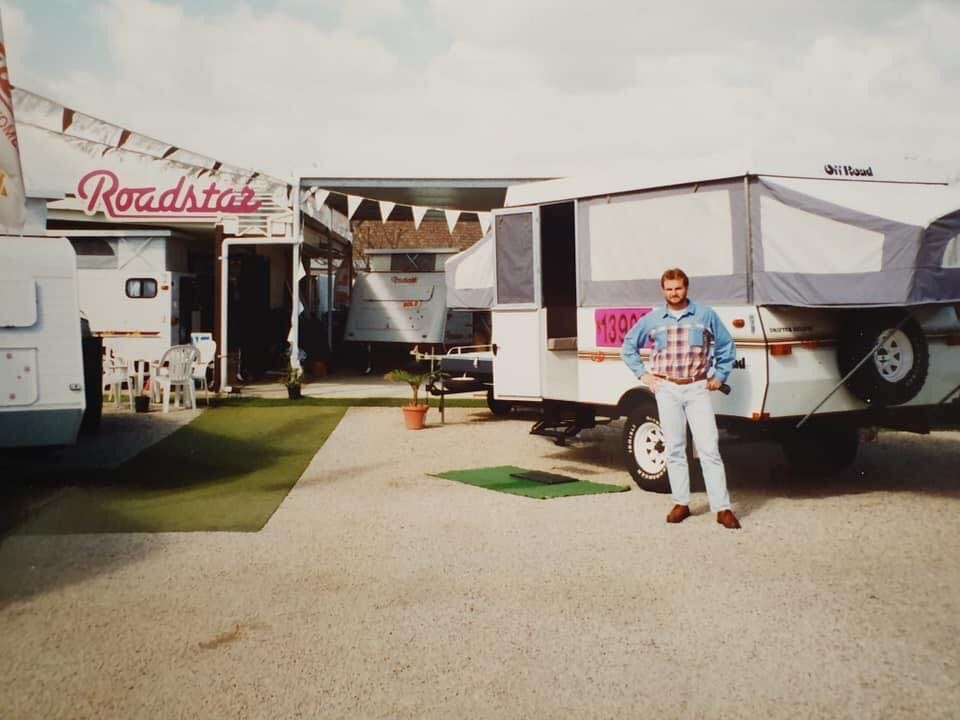 Dave Benson Caravans Opening 1994