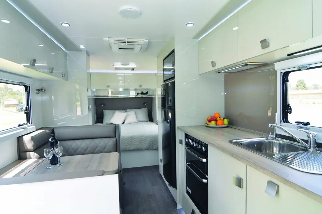 Design RV Mica Caravans Interior