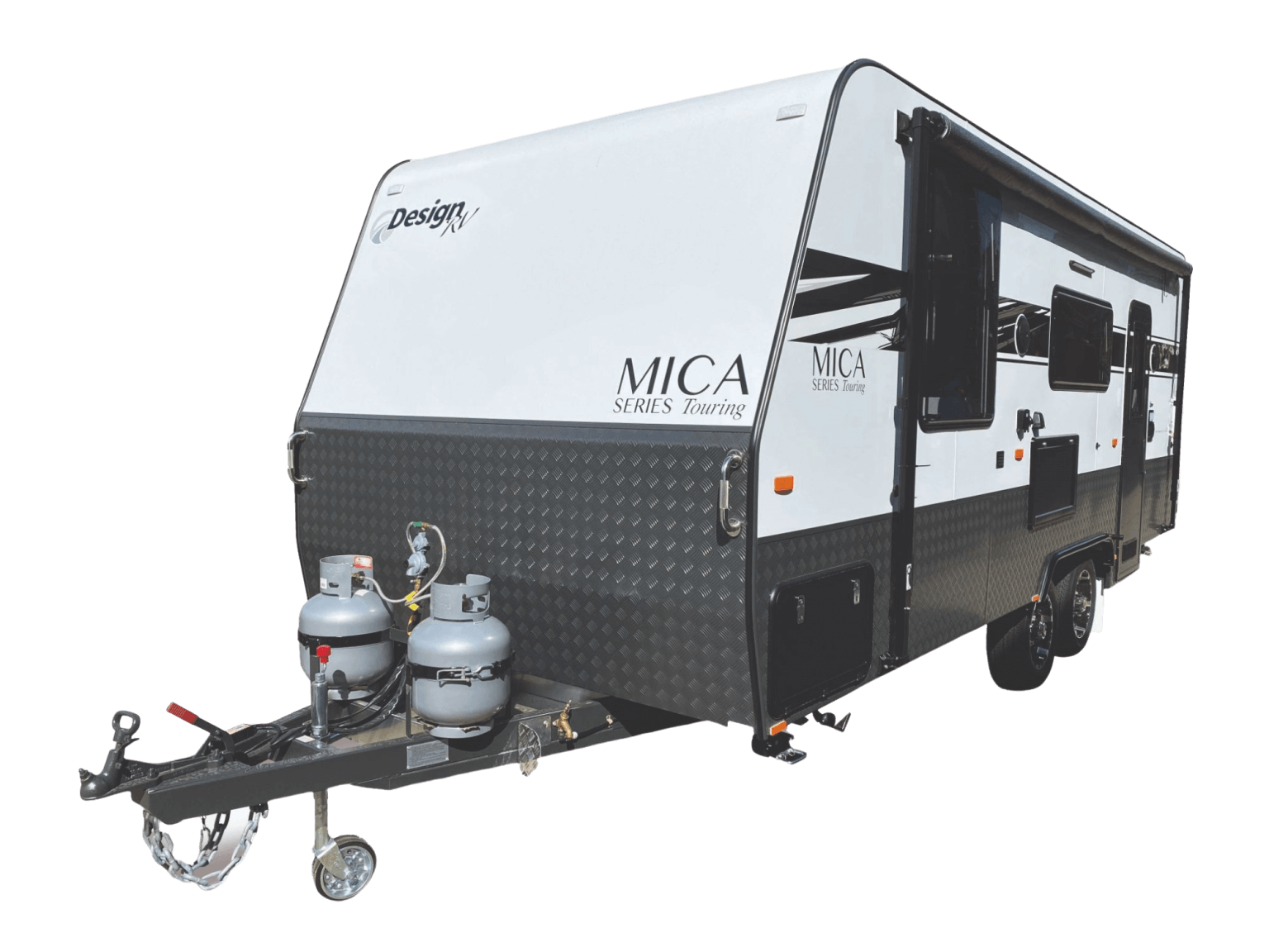 Design RV Mica Caravans No Backgroud