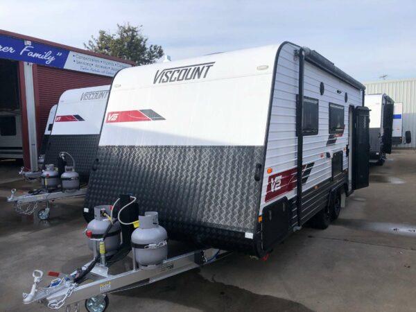 Viscount v2 caravans for sale