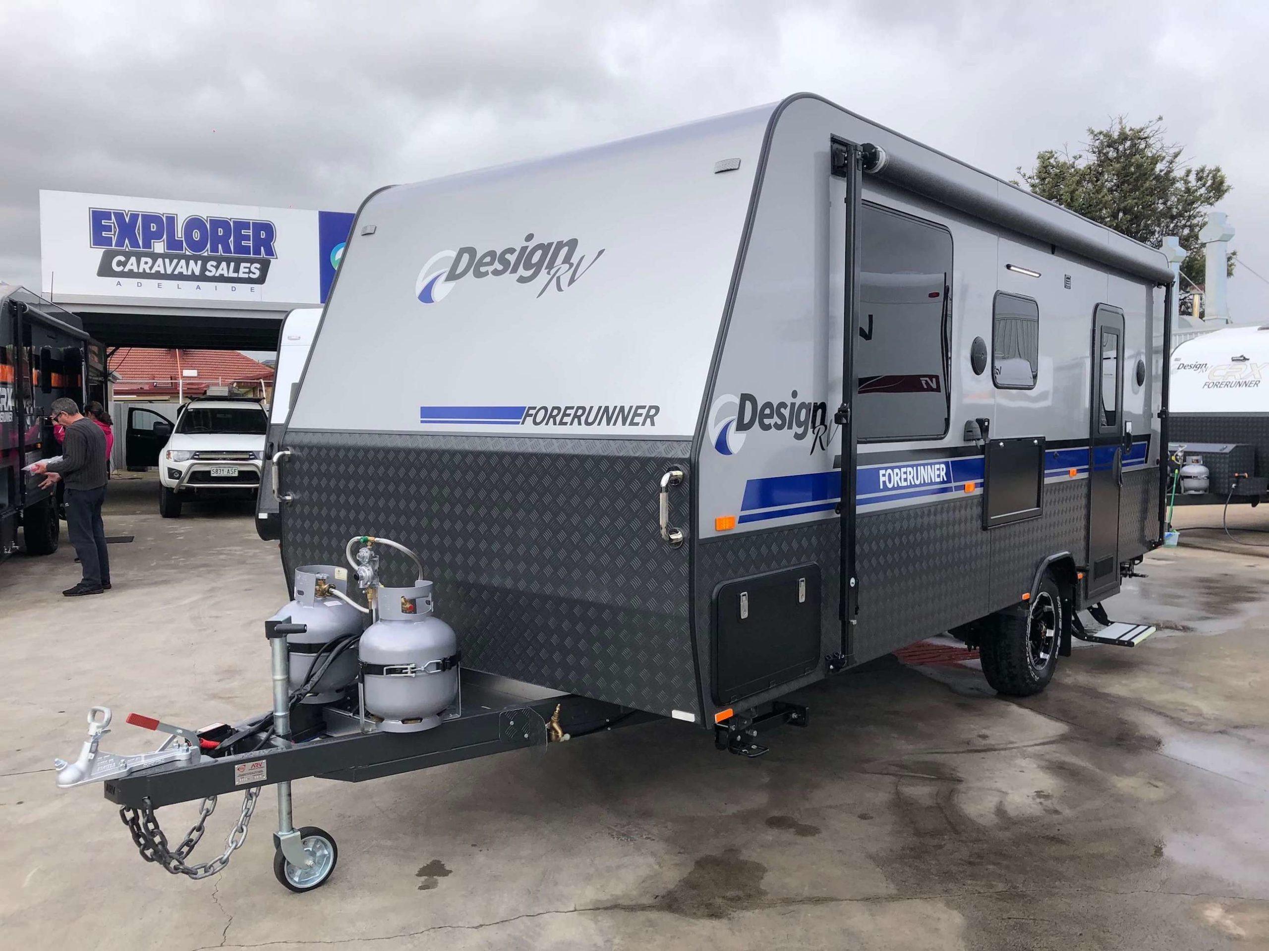 2021 Design RV Forerunner 1-1 blue grey 1