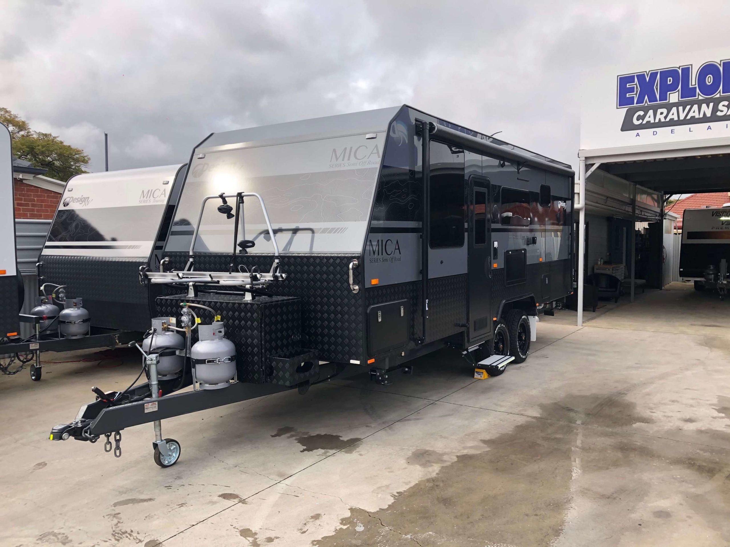 2021 Mica F2-2b semi off road caravan 27