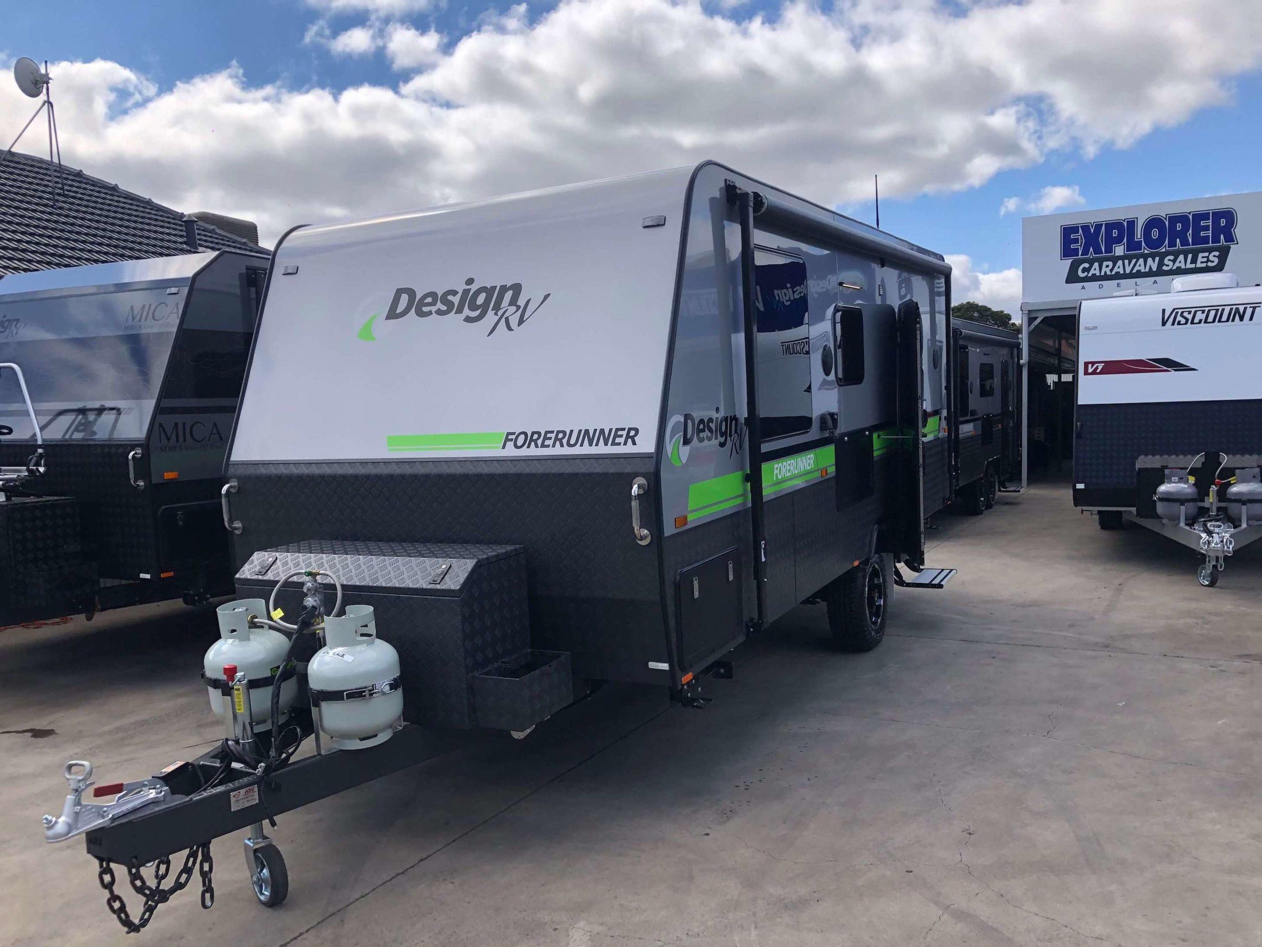 2021 Design RV Forerunner 1-1 green 1